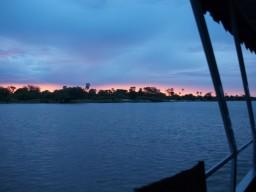 Flussfahrt Sambesi